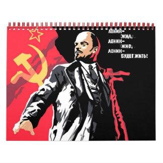 2012 Calendar - Soviet Theme