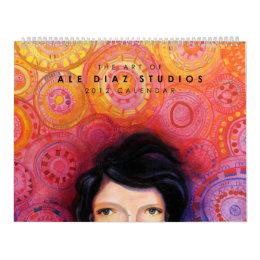 2012 Calendar the Art of Ale Diaz Studios