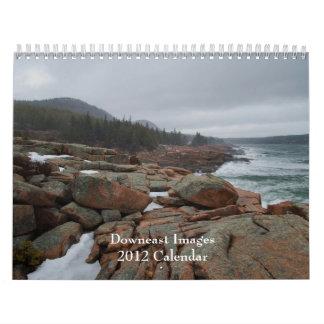 2012 calendario de las imágenes de Downeast - 1