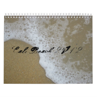 2012 calender, Cali Beach Calendar