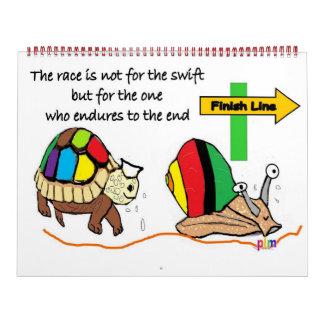 2012 Calender - inspiring, motivational Calendar