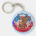 2012 California for Jon Huntsman Key Chains