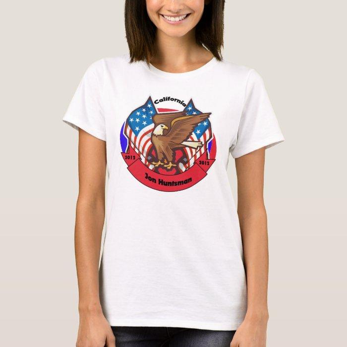 2012 California for Jon Huntsman T-Shirt