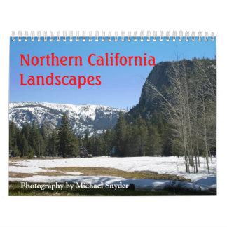 2012, California septentrional ajardina el calenda Calendario