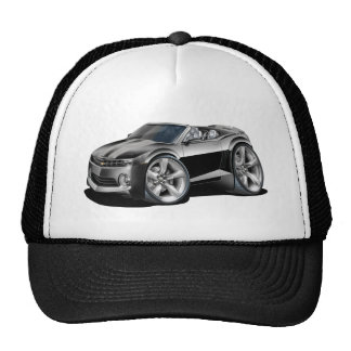 2012 Camaro Black-Grey Convertible Trucker Hat