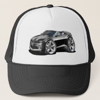 2012 Camaro Black-Grey Convertible Trucker Hat