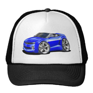 2012 Camaro Blue Convertible Trucker Hat