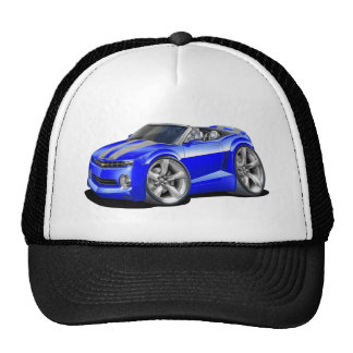 2012 Camaro Blue-Grey Convertible Trucker Hat