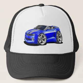 2012 Camaro Blue-Grey Convertible Trucker Hat