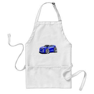 2012 Camaro Blue-White Convertible Adult Apron
