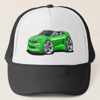 2012 Camaro Green-Grey Convertible Trucker Hat