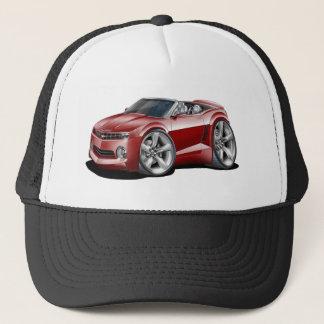 2012 Camaro Maroon Convertible Trucker Hat