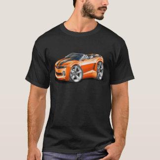 2012 Camaro Orange-Black Convertible T-Shirt