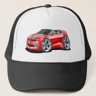2012 Camaro Red-Grey Convertible Trucker Hat