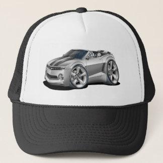 2012 Camaro Silver-Black Convertible Trucker Hat