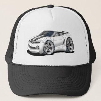 2012 Camaro White-Black Convertible Trucker Hat
