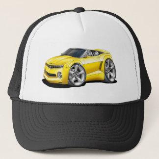 2012 Camaro Yellow Convertible Trucker Hat