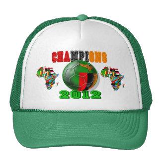 2012 campeones de África - Zambia Chipolopolo Gorra