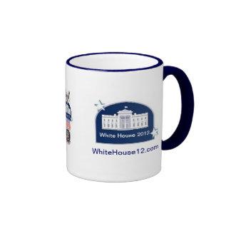 2012 candidatos presidenciales republicanos tazas de café