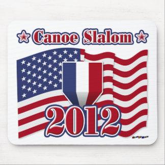 2012 Canoe Slalom Mouse Pad