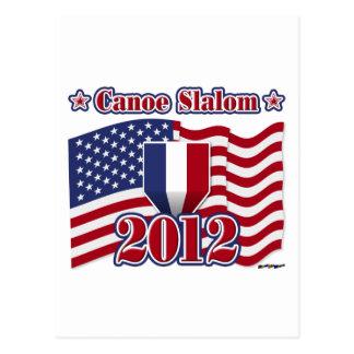2012 Canoe Slalom Postcard
