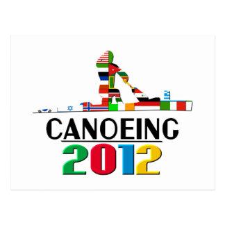 2012: Canoeing Postcard