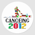 2012: Canoeing Stickers