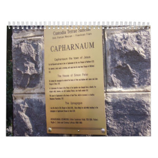 2012 Capernaum Calendar