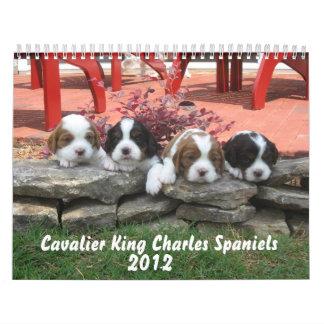 2012 Cavalier King Charles Spaniel Calendar