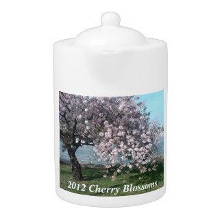 2012 Cherry Blossom Tea Pot