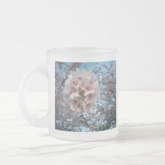 2012 Cherry Blossoms Products Part 2 Frosted Glass Coffee Mug