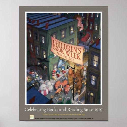2012 Childrens Book Week Poster