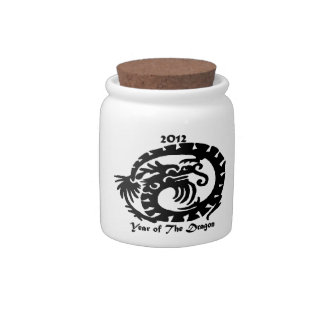 2012 Chinese New Year Dragon Candy Jar