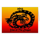 2012 Chinese New Year Dragon Greeting Card