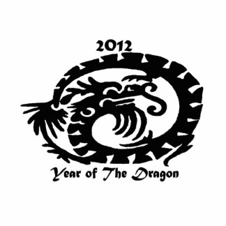 2012 Chinese New Year Dragon Photo Sculpture Ornament
