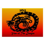 2012 Chinese New Year Dragon Posters
