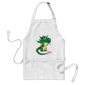 2012 Chinese New Year, The Year of The Dragon Adult Apron