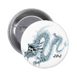 2012 Chinese New Year, The Year of The Dragon Buttons