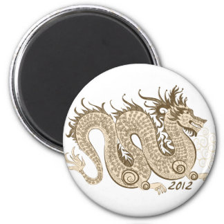 2012 Chinese New Year, The Year of The Dragon Magnet