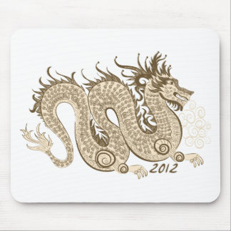2012 Chinese New Year, The Year of The Dragon Mouse Pad