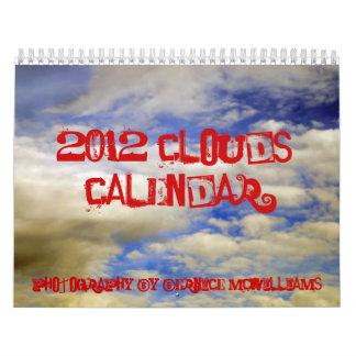 2012 Clouds Calendar