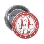 2012 Committee to Re Elect Barack Obama 2 Inch Round Button