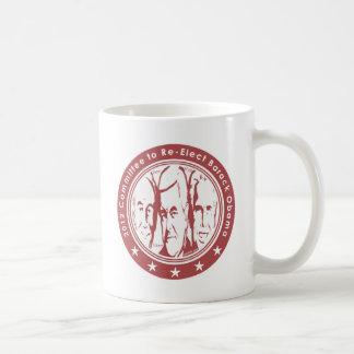 2012 Committee to Re Elect Barack Obama Coffee Mug