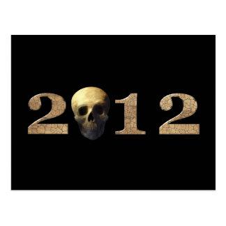 2012 con el cráneo postal