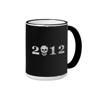 2012 con el cráneo taza a dos colores