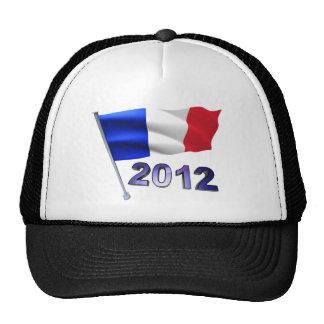 2012 con la bandera francesa gorra
