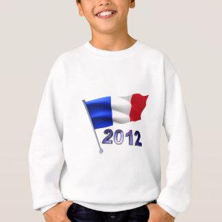 2012 con la bandera francesa poleras