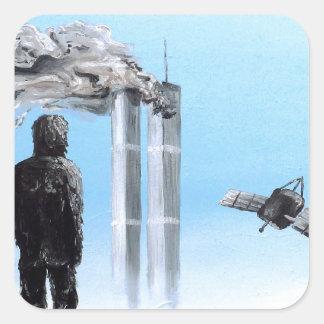 2012- Confronting Inevitability - Custom Print! Square Sticker