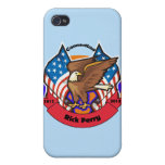 2012 Connecticut for Rick Perry iPhone 4 Covers