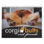 2012 Corgi Butts & Friends Wall Calendar